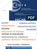 Informe de Progreso Educativo 2014