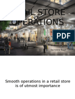 Retail store  operation