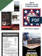 2017 DYB Rule Book-Final 11-18-2016