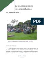 Sistemas de Modernizaciones Para La Artillería en C.A.