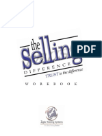 The Selling Difference Workbook - Zig Ziglar