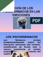 Acción de Los Psicofármacos en Las Emociones
