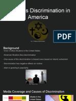 religious discrimination in america