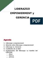 Liderazgo Empowerment y Gerencia corregido 3.ppt