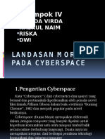 Landasan Moral Pada Cyberspace