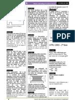 Matemática - Apostila UFRJ - 02 Projeto Pré-Vestibular Comunitário São Marcelino Champagnat