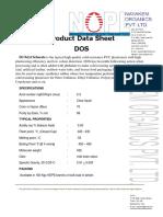 Di Oktil Sebasat Product Data Sheet DOS