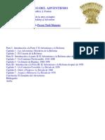 El Zarandeo Del Adventismo by Geoffrey j. Paxton