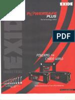 Exide Powersafe Plus