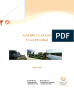 Adelaide Solar City Solar Program