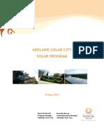Adelaide Solar City Solar Program