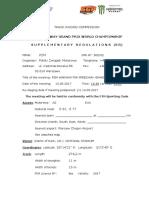 Supplementary Regulations 502-02 FIM SGP Warszawa 2017 Updated 13.03.17