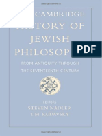 242670540 the Cambridge History of Jewish Philosophy Vol 1 PDF