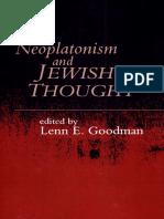 256115890 Goodman Neoplatonism and Jewish Thought