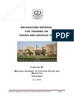 Background Material - Final GST Training Material 2016