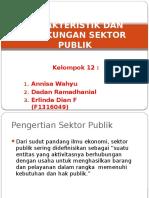 Karakteristik Dan Lingkungan Sektor Publik Kel 12