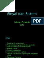 Yepe-kuliah Sinyal Dan Sistem 2013-A File 2013-04!22!084315 Yuliman Purwanto Dr. Eng
