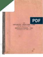 EPF StaffServiceRegulations1962 AmdUptoApril1972 Part 1