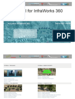 Tutorials for InfraWorks 360