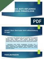 Analisis Anti-Inflamasi Turunan Pirazolidin