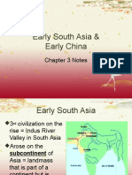 early south asia and early china