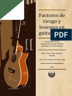 facores de riesgo y lesión en guitarristas
