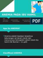 Anemia Pada Ibu Hamil Ppt