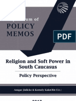 Religion and Soft Power in the South Caucasus