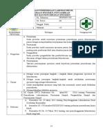 8.1.2.1. Sop Permintaan Pemeriksaan, Penerimaan Specimen, Pengambilan Dan Penyimpanan Specimen