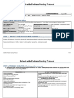 Gapbis Problem Solving Protocol for Dcs Fy14 Sample