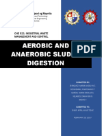 Aerobic and Anaerobic Sludge Digestion