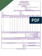 YBM GST Invoice Format