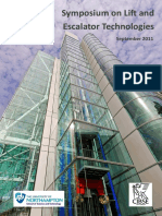 Lift and Escalator Symposium Proceedings 2011