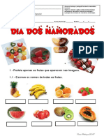Ficha Funcional de Português e Matemática de S. Valentim