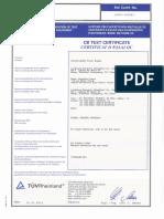 CB Eaton5P650 TestCertificate