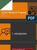 Action Research Proposal [PDF]