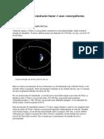 Rotação e Translação Lunar e Suas Consequências