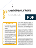 Ecfr206 the Future Shape of Europe - How the Eu Can Bend and Not Break