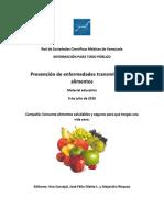 Prevención de Enfermedades Transmitidas por Alimentos. Red de Sociedades Científicas Medicas de Venezuela