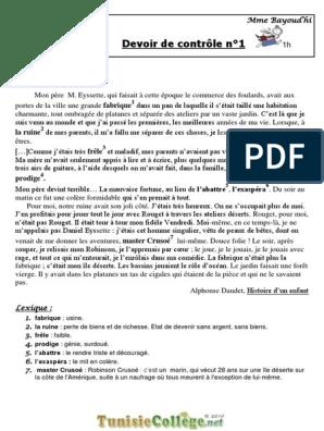 FRANCAIS 9EME TÉLÉCHARGER DEVOIR
