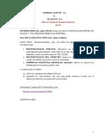 SWAP- Modelo Informe pericial