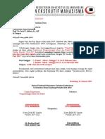 Surat Pengajuan Dana Untuk Lomba