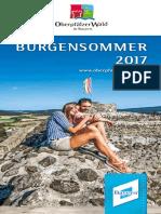 Burgensommer Oberpfälzer Wald 2017