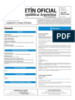 Boletín Oficial de la República Argentina, Número 33.585. 15 de marzo de 2017