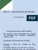 Aula3.InstrumentosdePressao