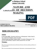 Decision Making Ankita 09