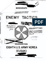 XEnemy Tactics in Korea, Field Study, Dec 1951