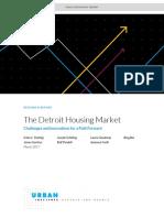 Detroit Housing Market Study
