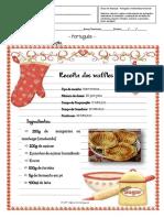 Ficha de Waffles ( Português e Matemática Funcional)
