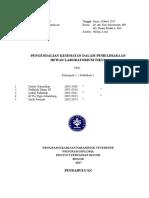 Laporan praktikum ke 4 Kesehatan Hewan Lab dan Satwa Akuatik ( Pengendalian Kesehatan Dalam Pemeliharaan Hewan Laboraturium Tikus )
